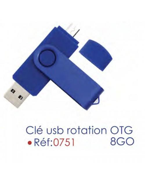 USB double tête