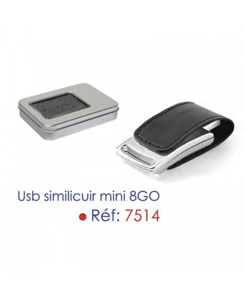 USB Cuir 8Go