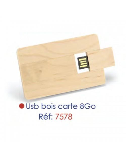USB BOIS 8Go
