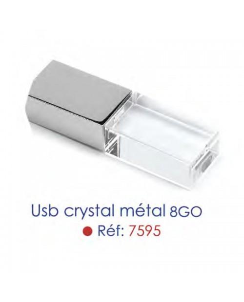 USB Crystal Métal