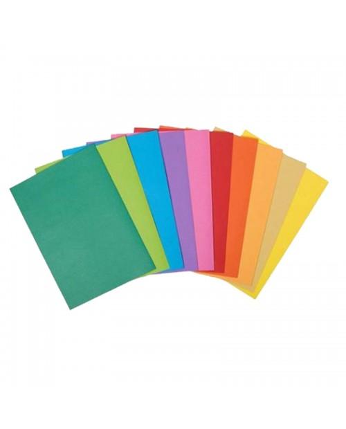 Chemise en papier couleur